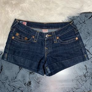 True Religion Allie Jean Shorts